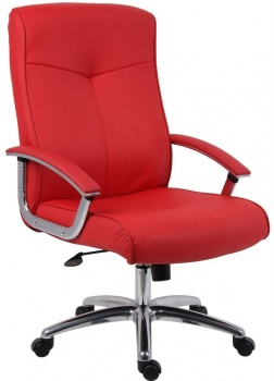 Hoxton Red Executive Chair